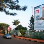 Kingdom Mall building site Kampala