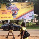 Billboard announcing KAB14, Photo Kampala Biennale